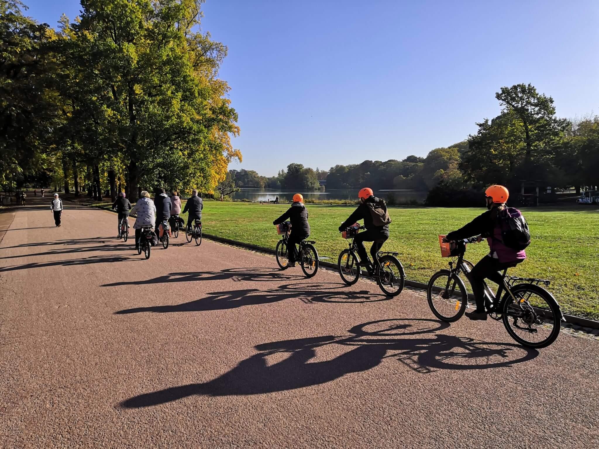 Partez pour une visite guidée à vélo électrique de Lyon