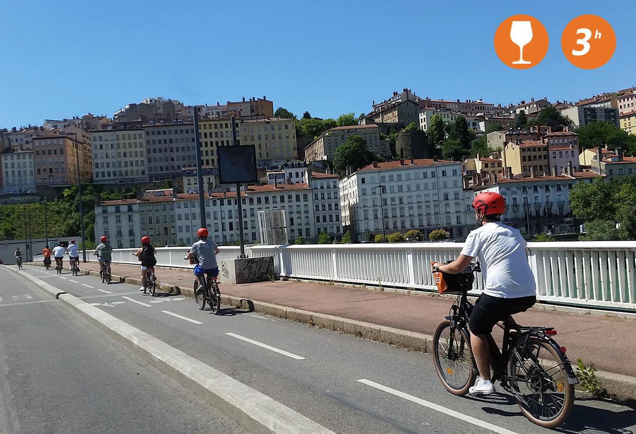 Visite guidée de la Croix Rousse à vélo électrique