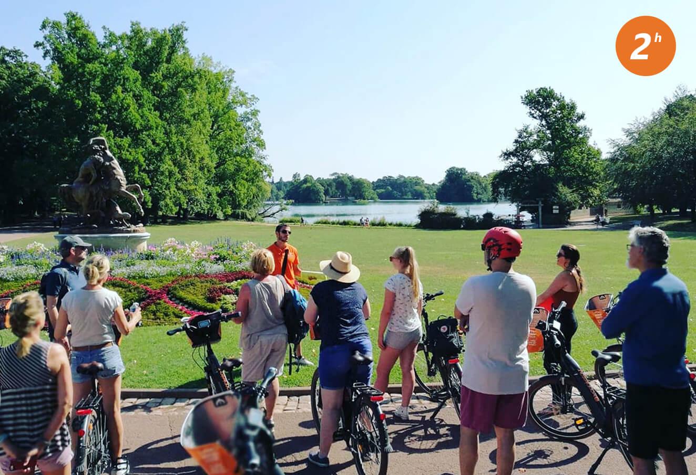 Visite guidée à vélo électrique de Lyon 2h