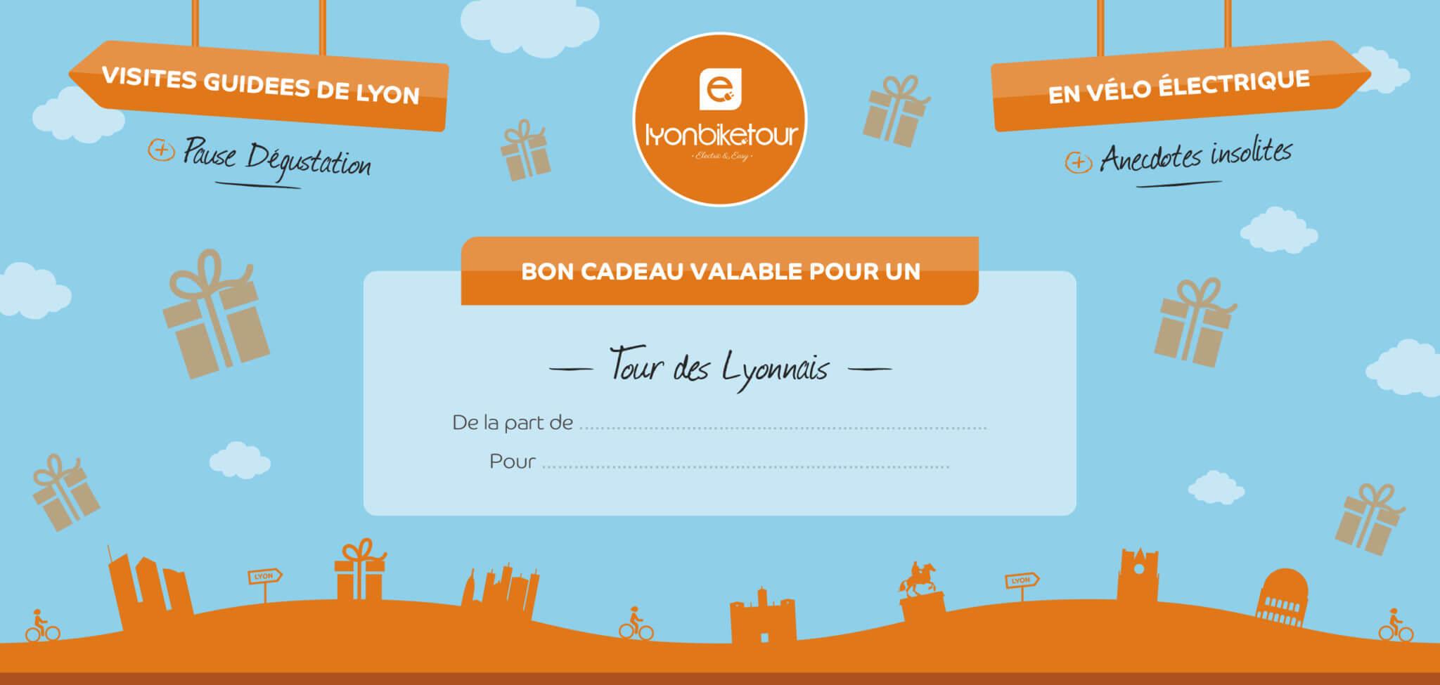 Bon cadeau Tour des Lyonnais