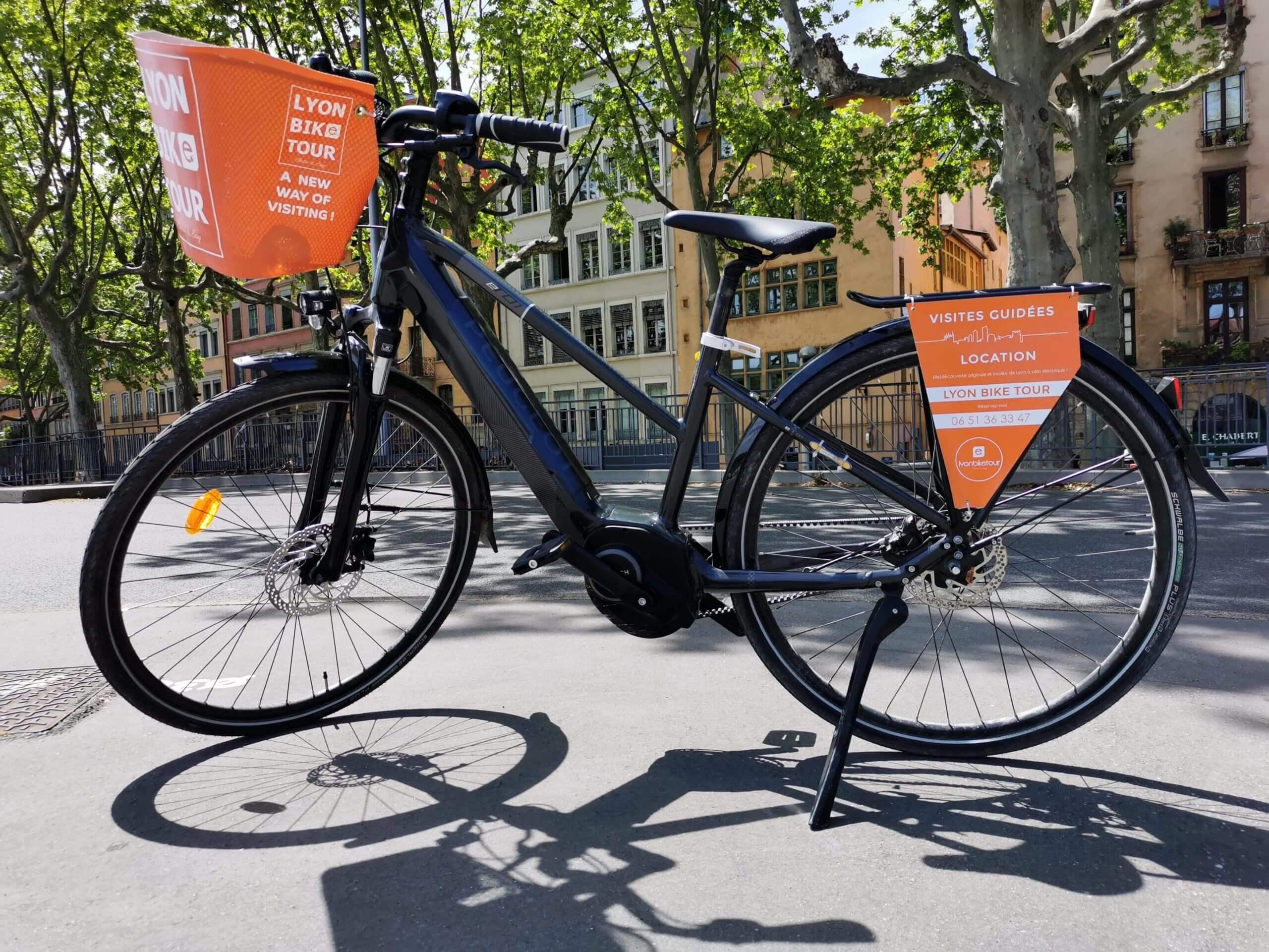 Vélo électrique disponible à la location