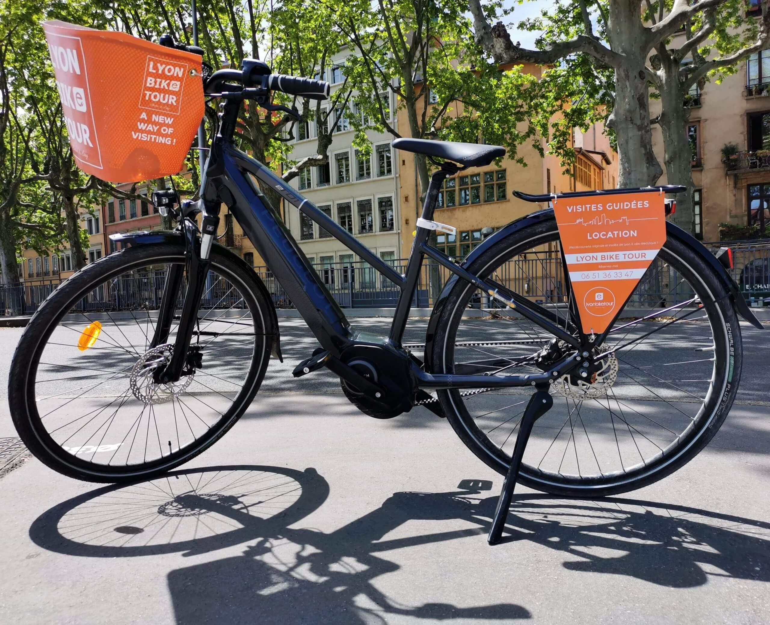 vélos en location avec Lyon bike tour
